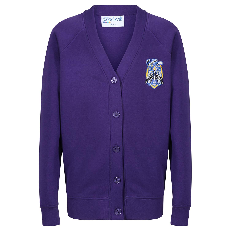 St Muns Primary Sweatshirt Cardigan