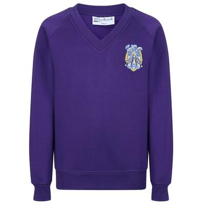 St Muns Primary Sweatshirt (V-neck)