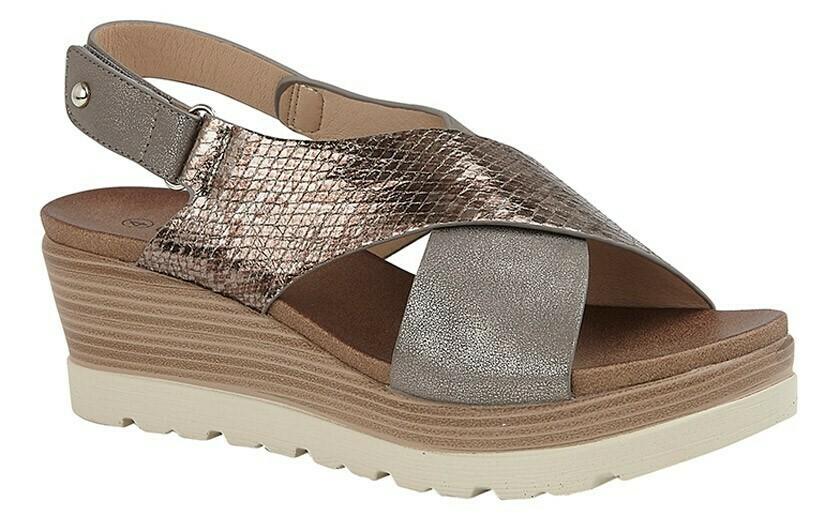 Wedge Sandal (RCSL597FBR)