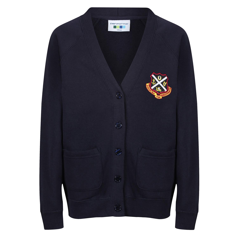 Dunoon Primary Sweatshirt Cardigan