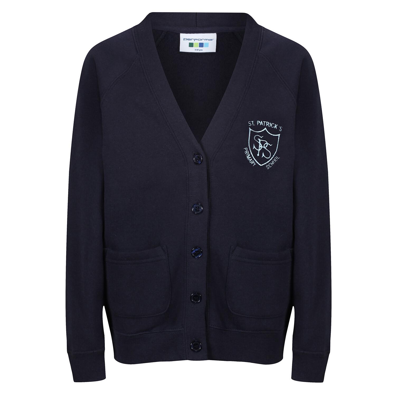 St Patrick's Primary Sweatshirt Cardigan