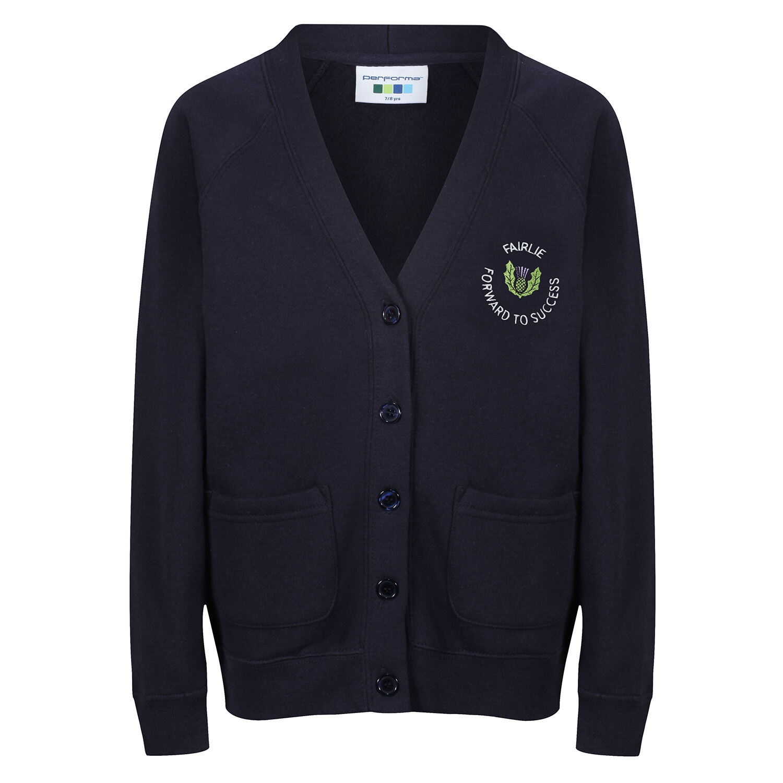 Fairlie Primary Sweatshirt Cardigan