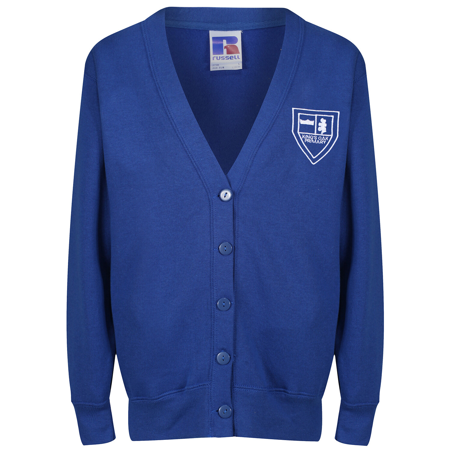 King's Oak Primary Sweatshirt Cardigan