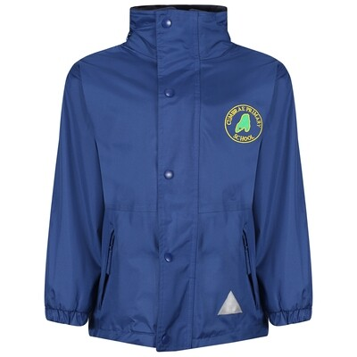 Cumbrae Primary Heavy Rain Jacket (Fleece lined)