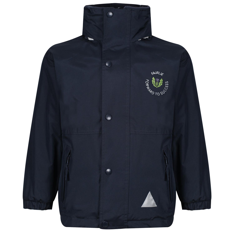 Fairlie Primary Heavy Rain Jacket (Fleece lined)