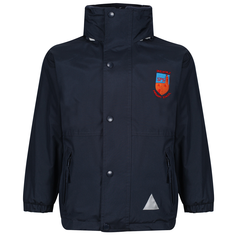 Skelmorlie Primary Heavy Rain Jacket (Fleece lined)