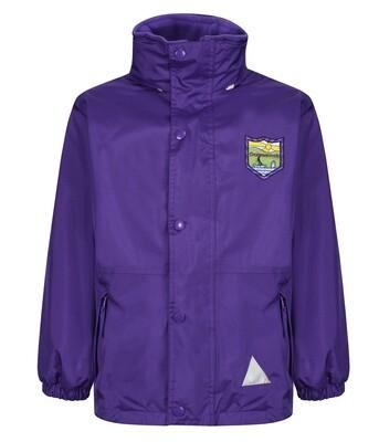 Craigmarloch Primary Heavy Rain Jacket (Fleece lined)