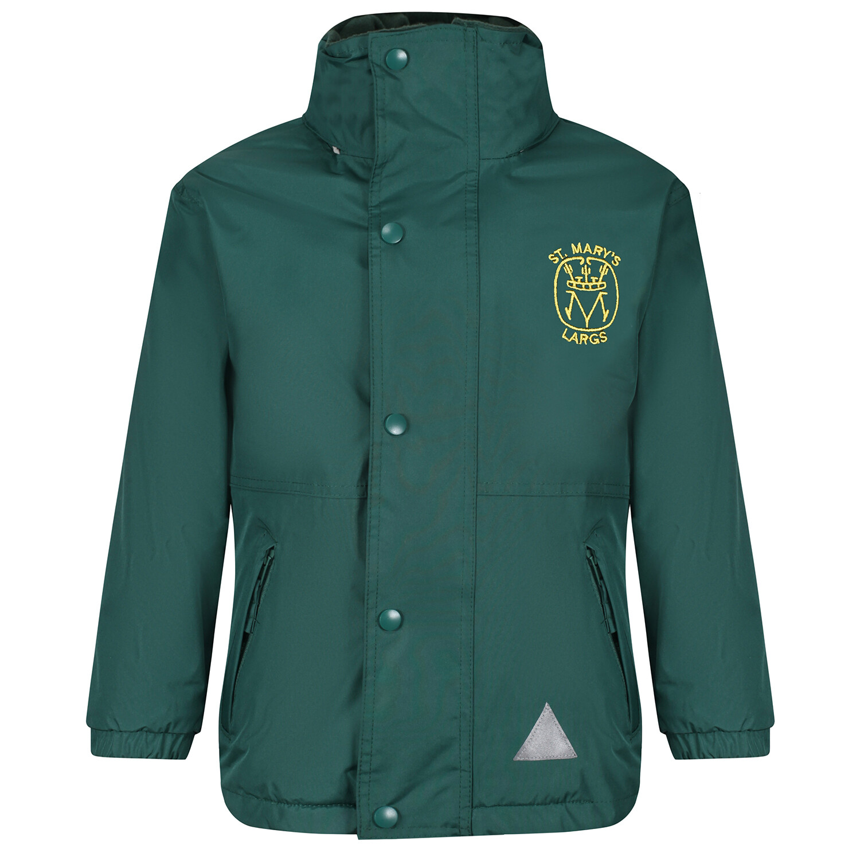 St Mary's Primary (Largs) Heavy Rain Jacket (Fleece lined)