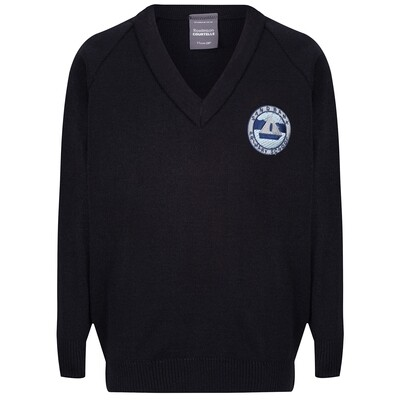 Sandbank Primary Knitted V-neck