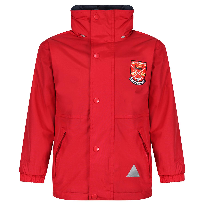 Largs Primary Heavy Rain Jacket (Fleece lined)