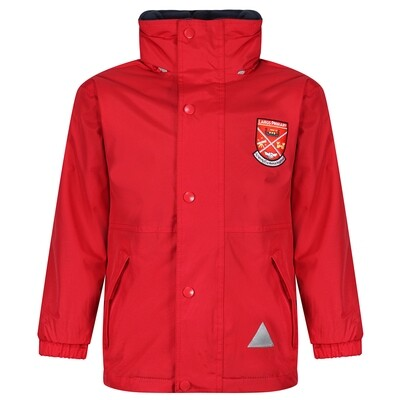 Largs Primary Heavy Rain Jacket (Fleece lined)
