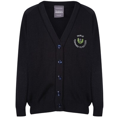 Fairlie Primary Knitted Cardigan (choice of colour)