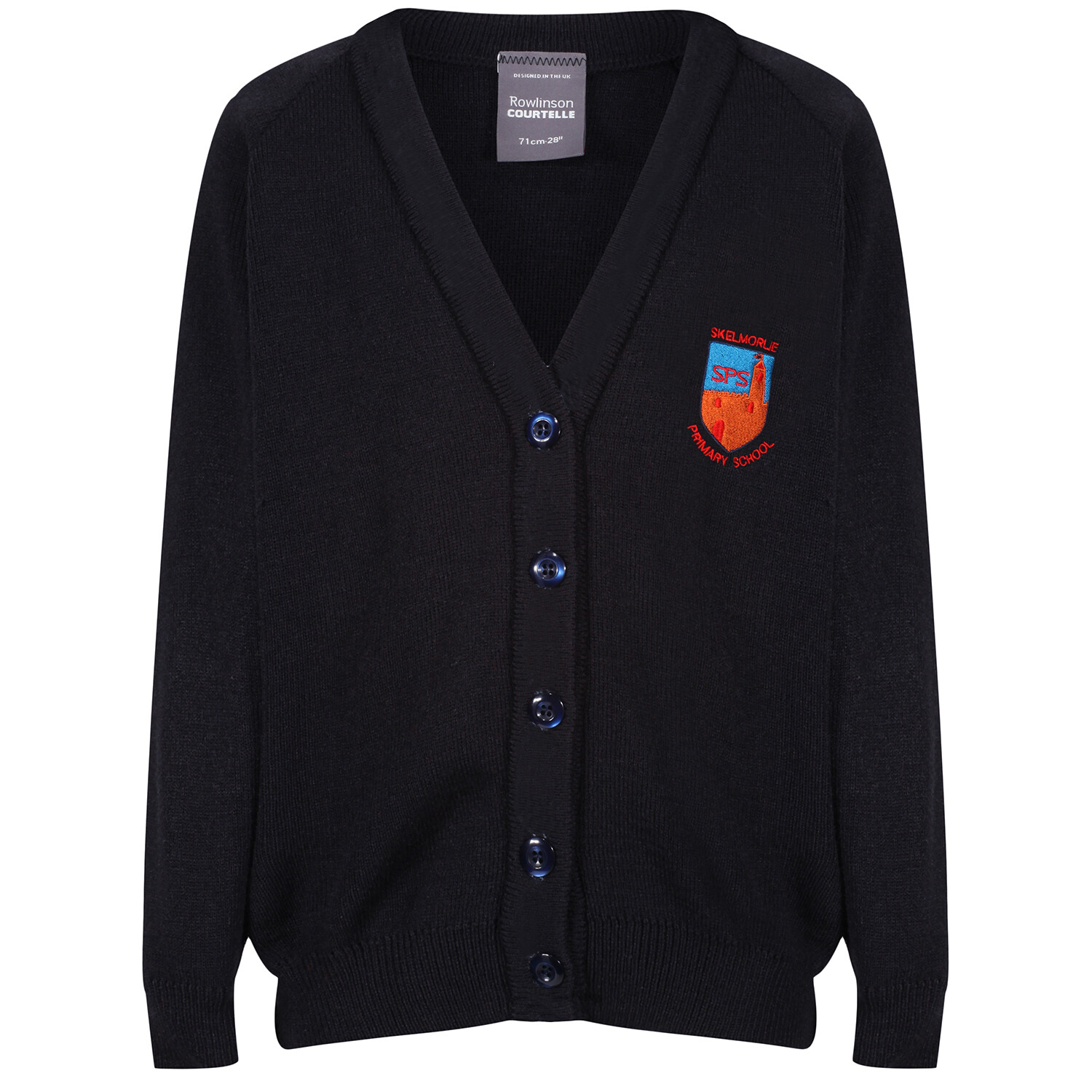 Skelmorlie Primary Knitted Cardigan (choice of colour)