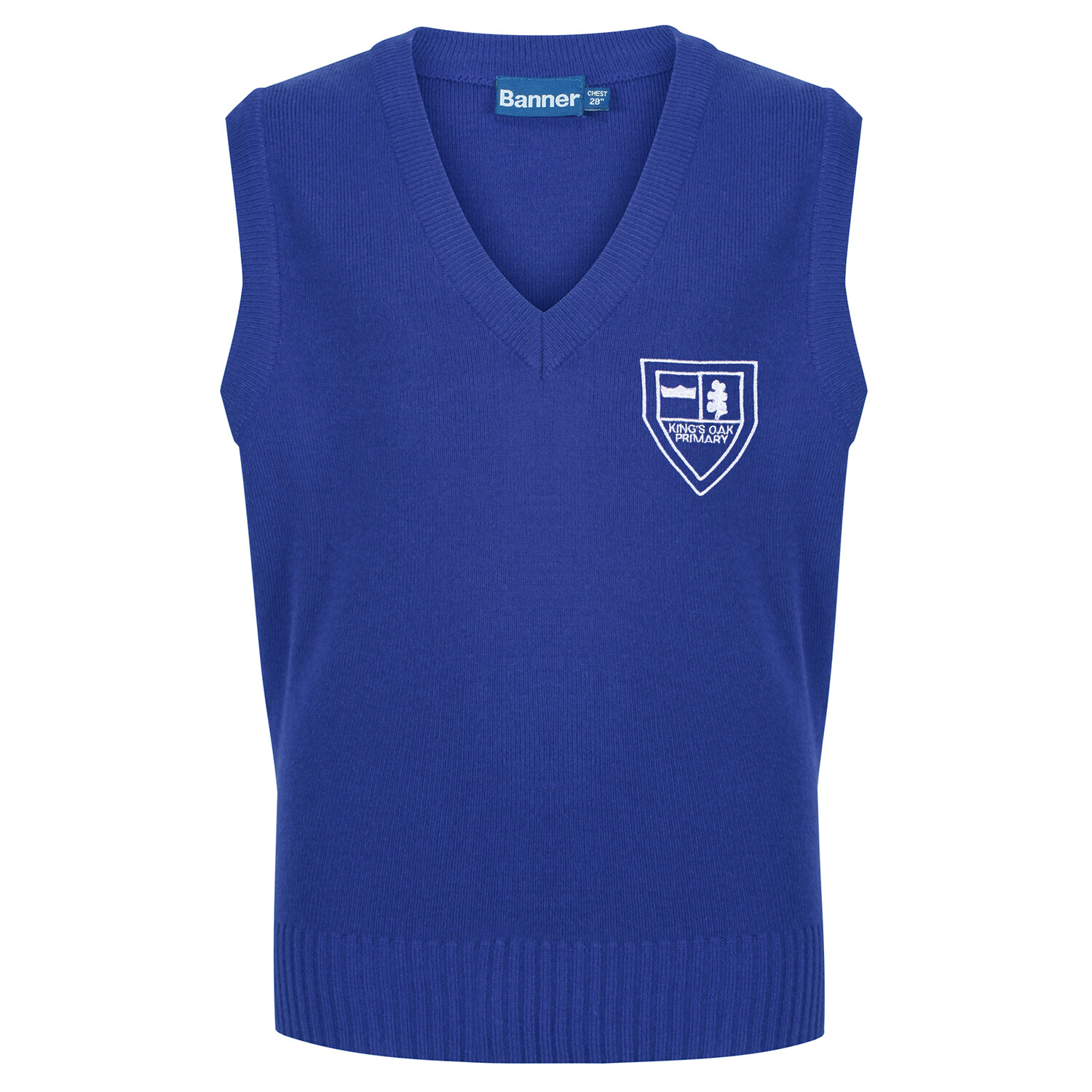 King's Oak Primary Knitted Tank Top (choice of colour)
