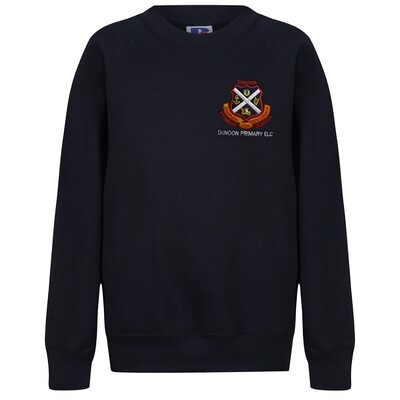 Dunoon Primary ELC Sweatshirt in Navy