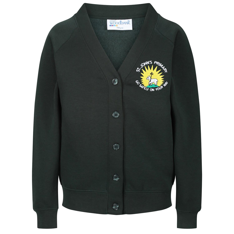 St John's Primary Sweatshirt Cardigan