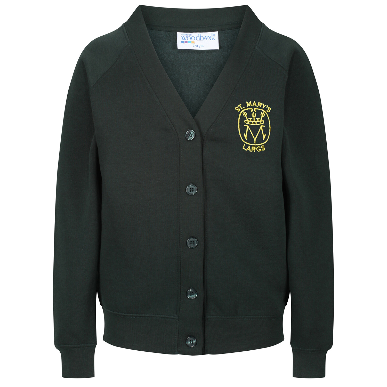 St Mary's Primary (Largs) Sweatshirt Cardigan