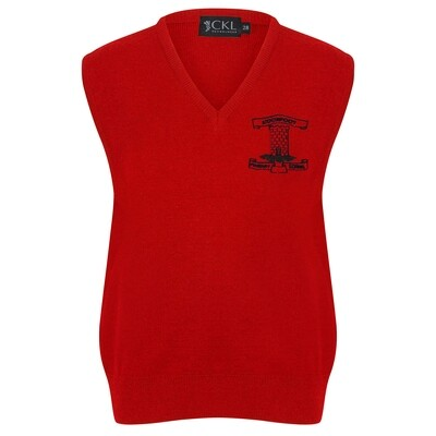 Moorfoot Primary Knitted Tank Top (choice of colour)