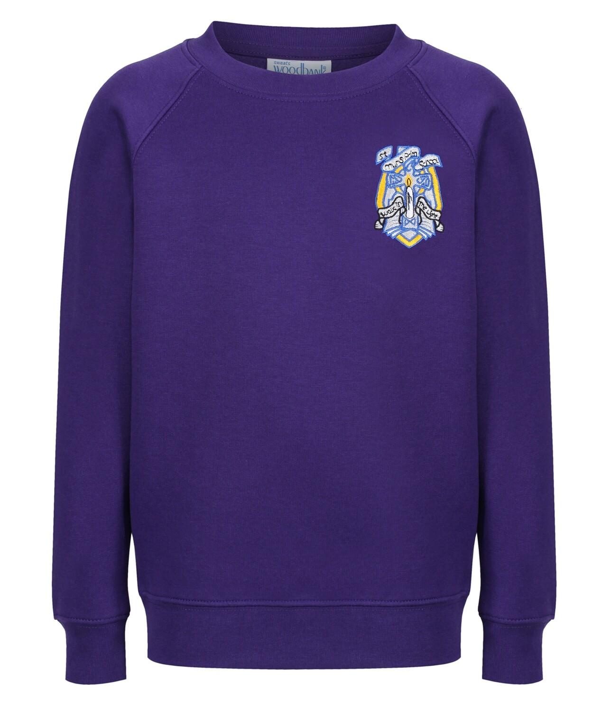 St Muns Primary Sweatshirt (Crew neck)