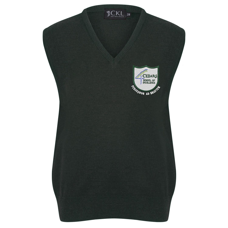 Cedars School Knitted Tank Top
