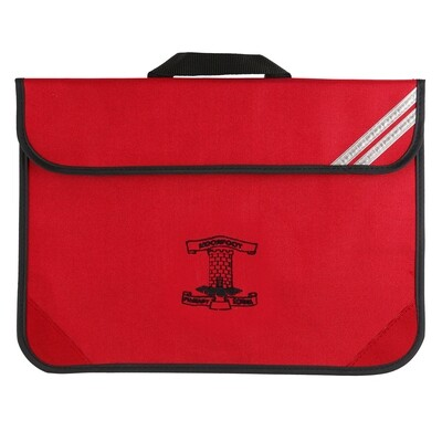 Moorfoot Primary Book Bag (In Red)
