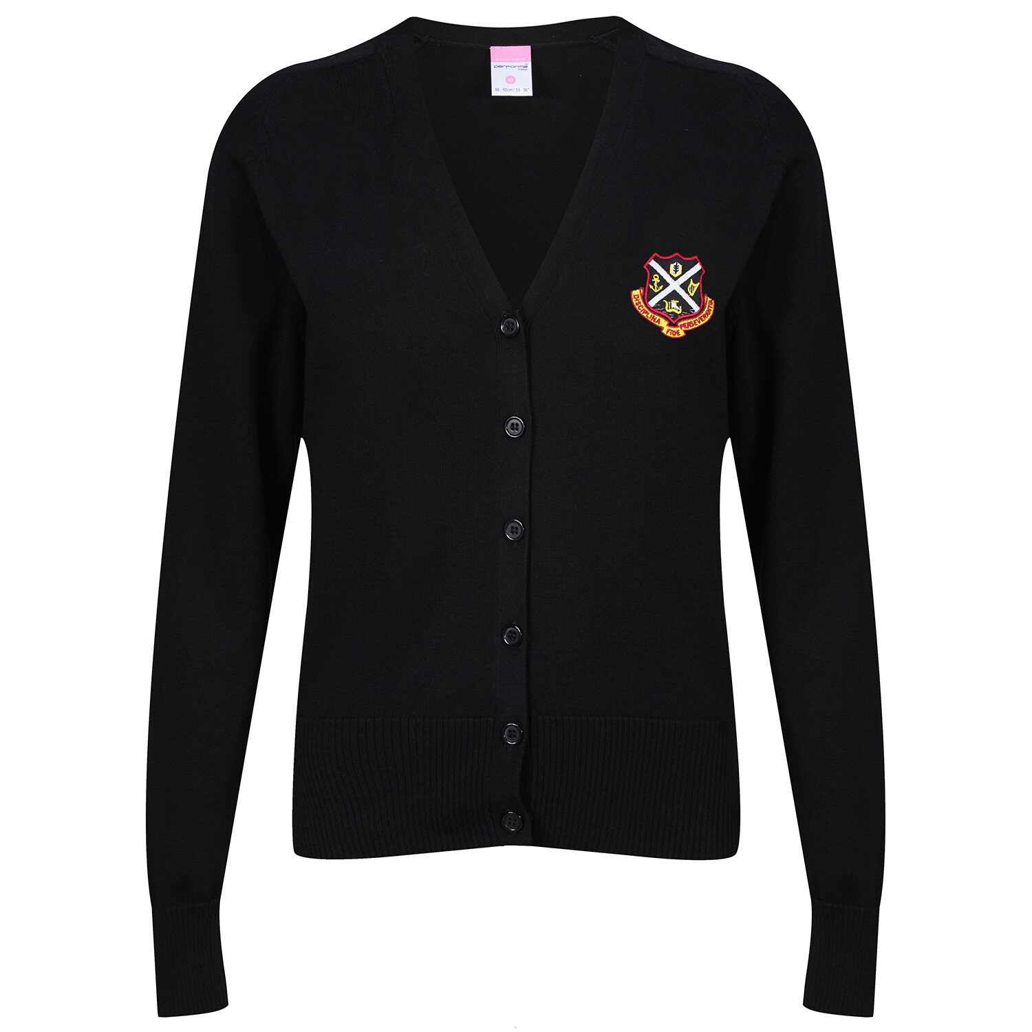 Dunoon Grammar Girls Knitted Cardigan