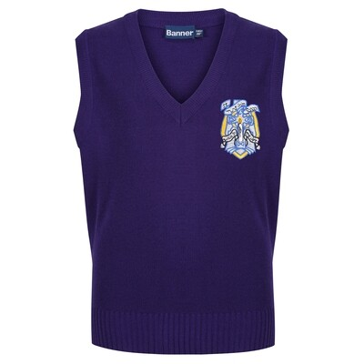 St Muns Primary Knitted Tank Top (choice of colours)