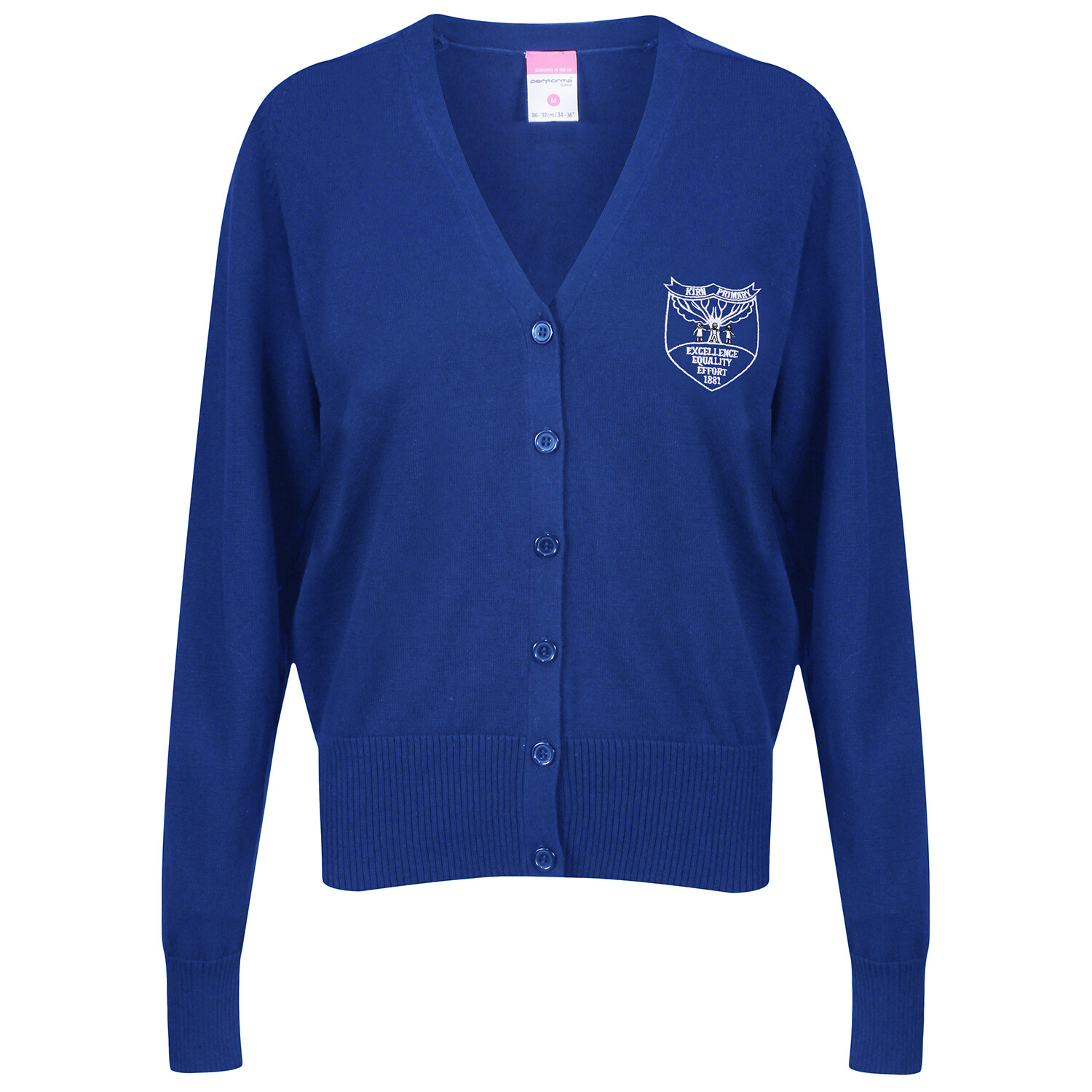 Kirn Primary Knitted Cardigan (choice of colours)