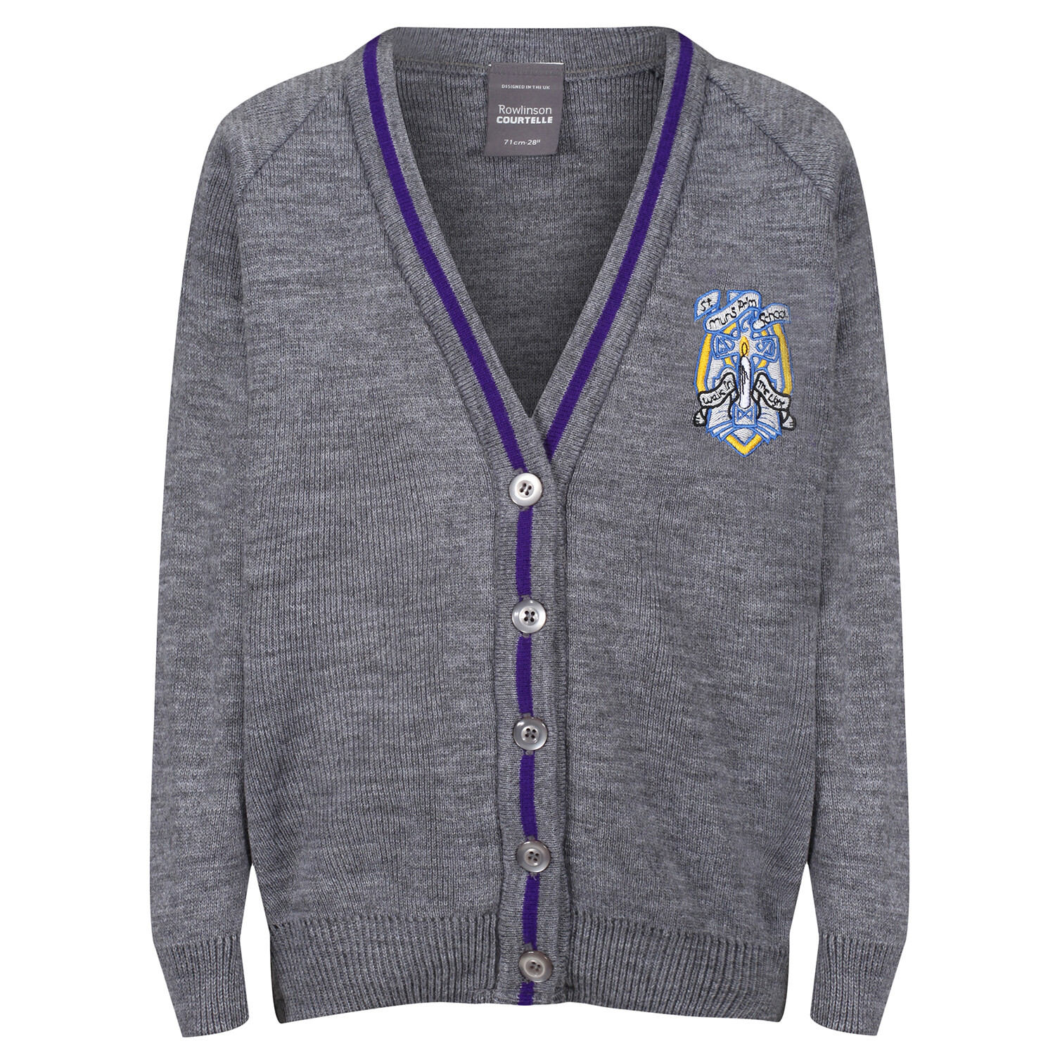 St Muns Primary Knitted Cardigan