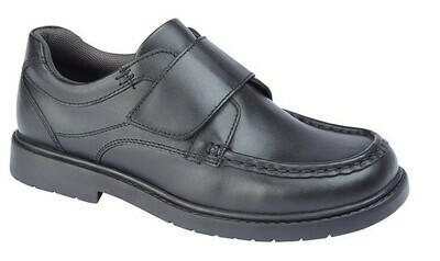 Boy's Leather School Shoe (Size 11-6) (RCSB883A)
