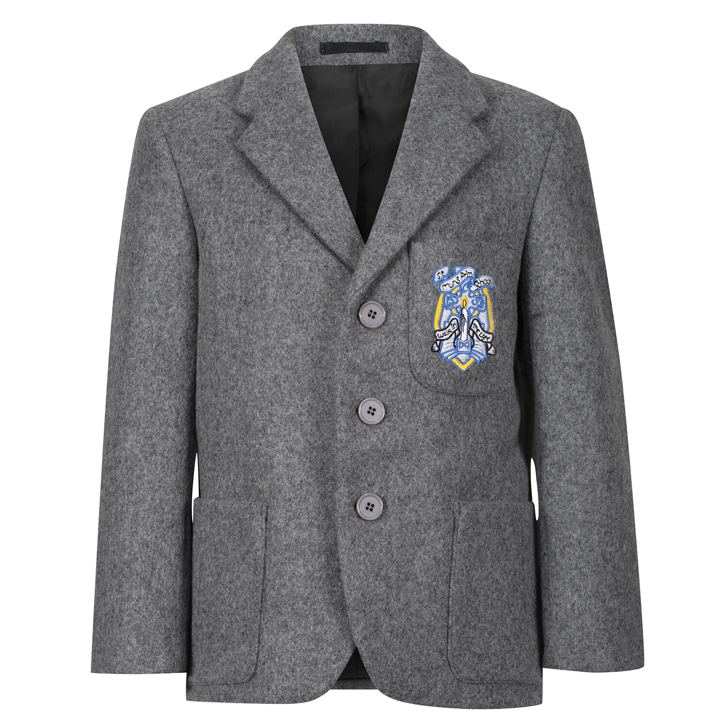 St Muns Primary 'Wool' Blazer (Made-to-Order)