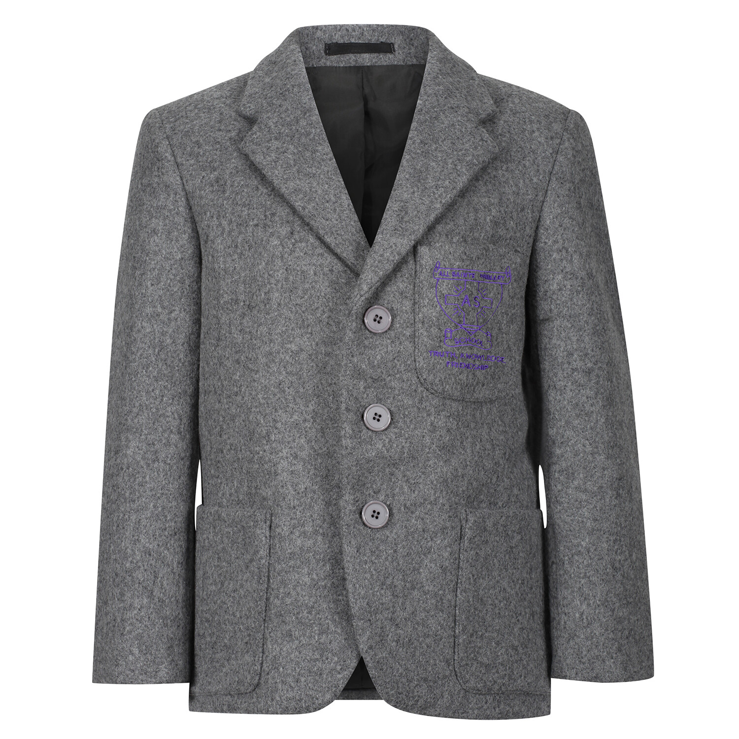 All Saints Primary 'Wool' Blazer (Made-to-Order)