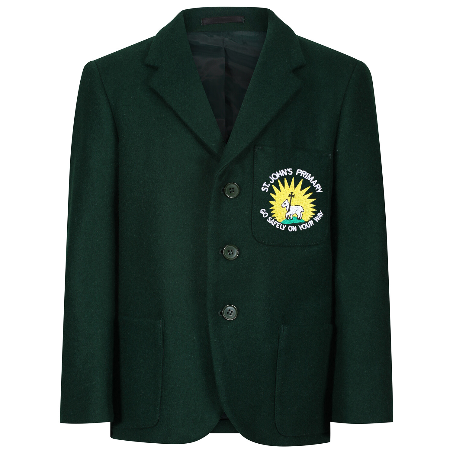 St John's Primary 'Wool' Blazer (Made-to-Order item)