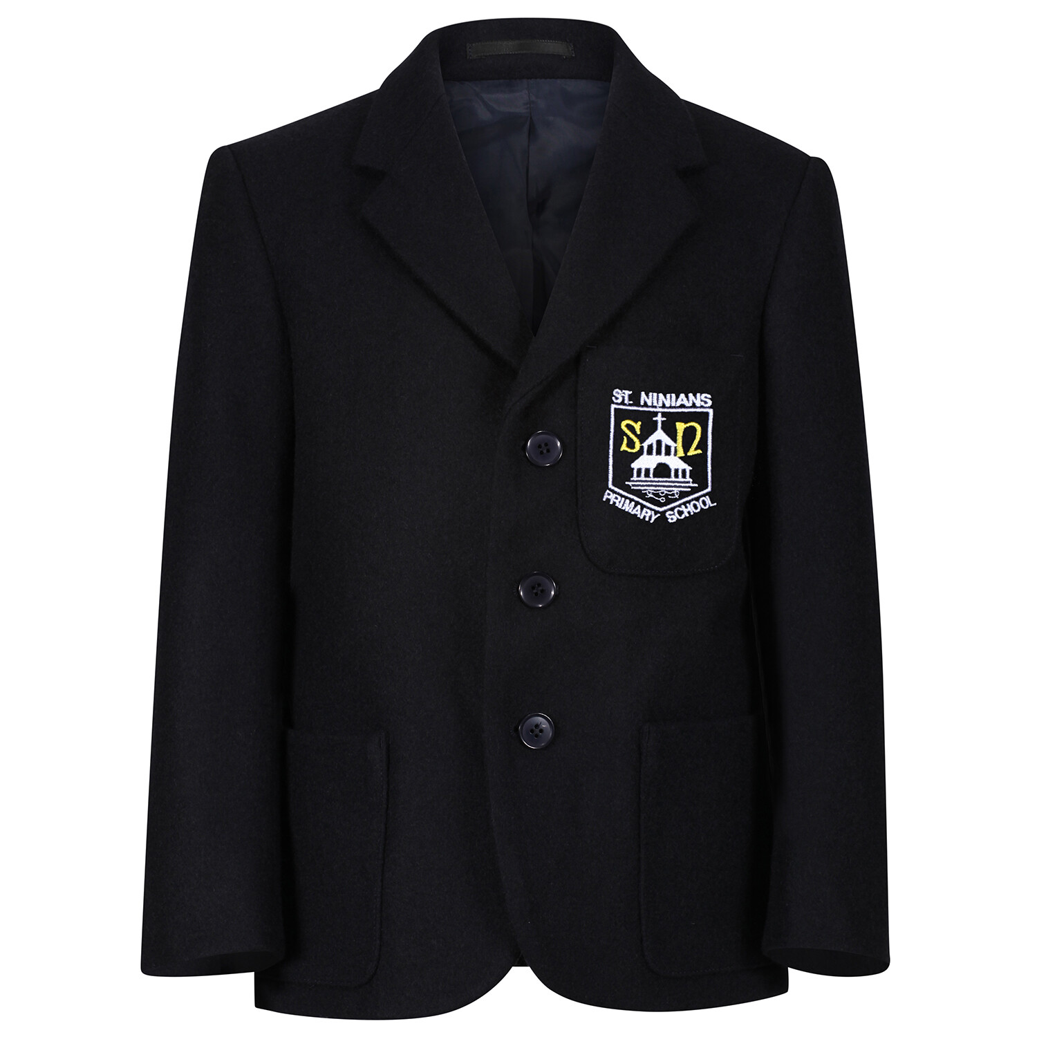 St Ninian's Primary 'Wool' Blazer (Made-to-Order)