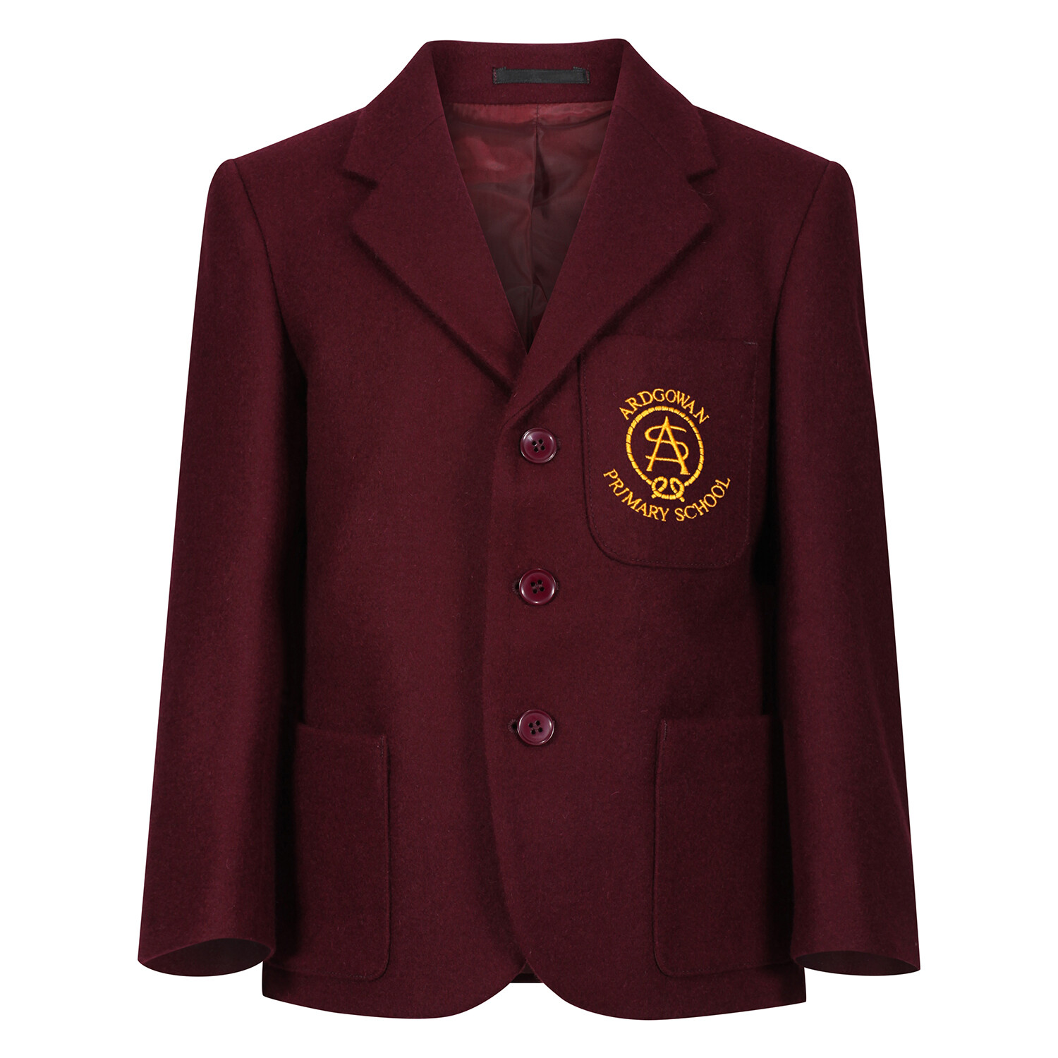 Ardgowan Primary 'Wool' Blazer (Made-to-Order)