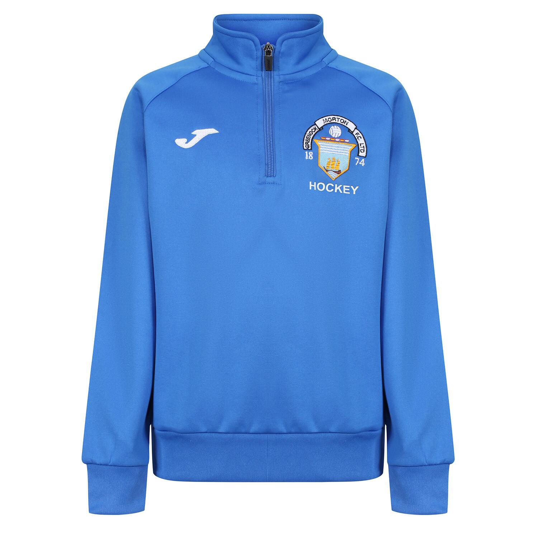 Greenock Morton HOCKEY Quarter Zip Sweatshirt