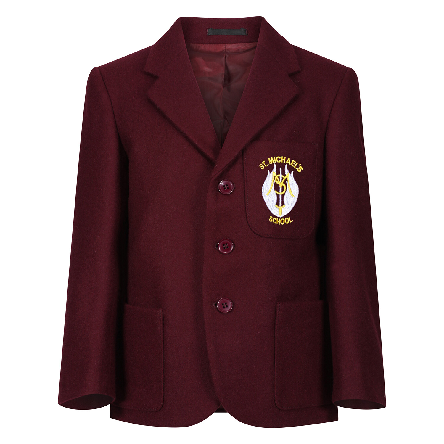 St Michael's Primary 'Wool' Blazer (Made-to-Order)