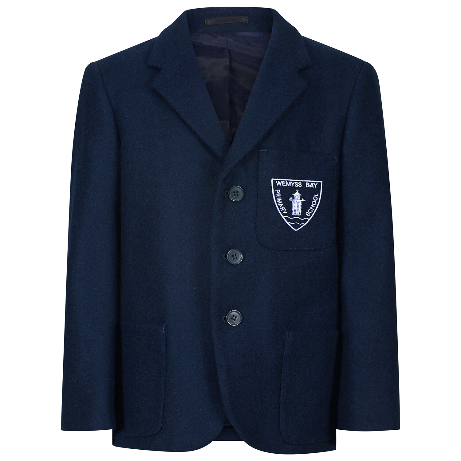 Wemyss Bay Primary 'Wool' Blazer (Made-to-Order)