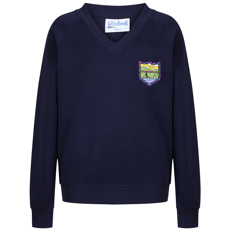 Craigmarloch Secondary Sweat Shirt (V-Neck)