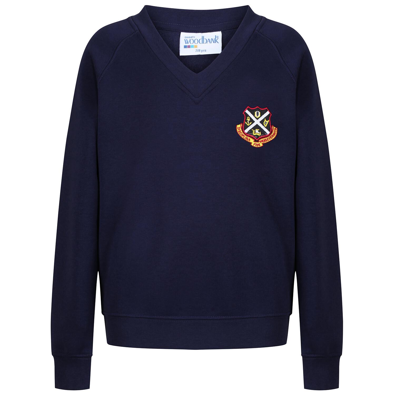 Dunoon Primary Sweatshirt (V-Neck)