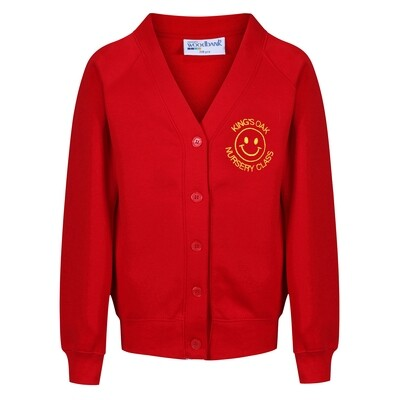 King's Oak Nursery Sweatshirt Cardigan