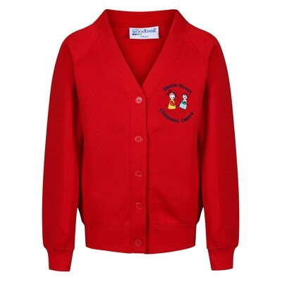 Binnie Street Nursery Sweatshirt Cardigan (choice of colour)