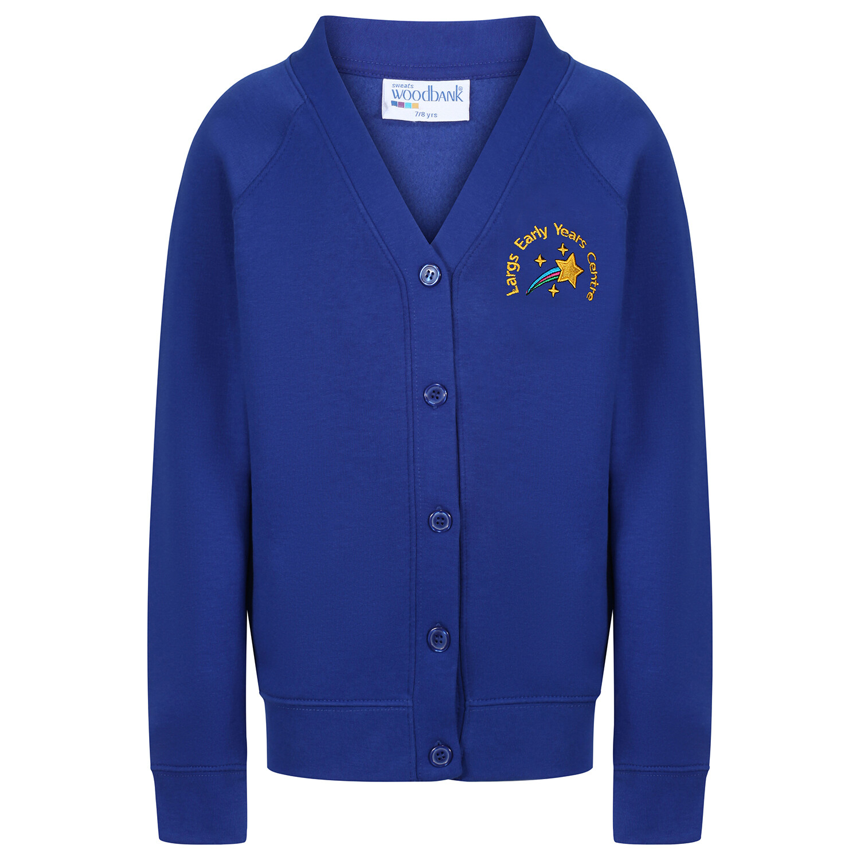 Largs Primary Early Years Sweatshirt Cardigan