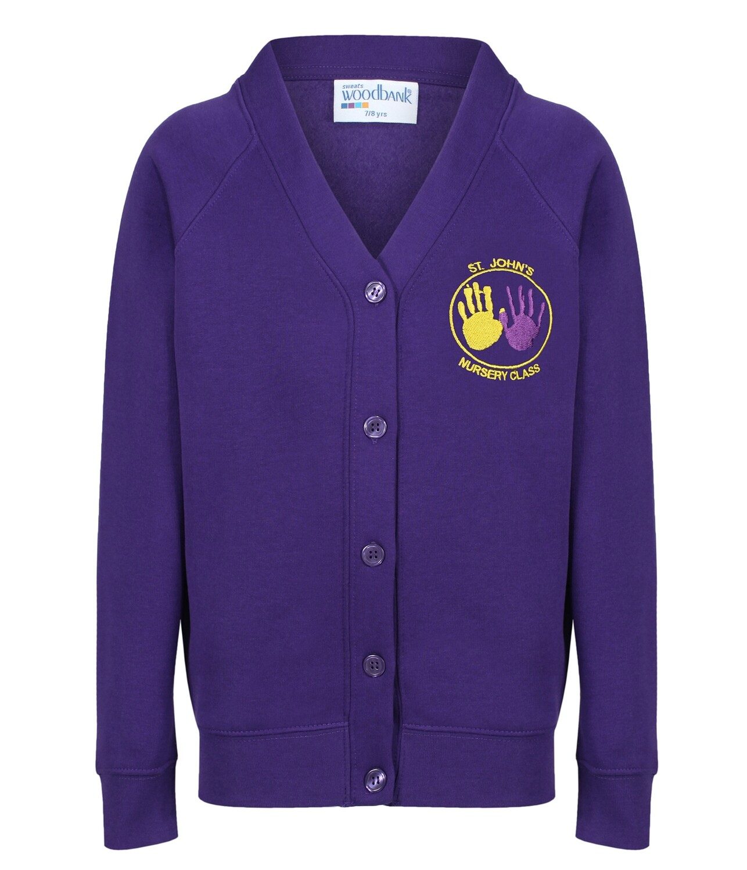 St John's Nursery Sweatshirt Cardigan
