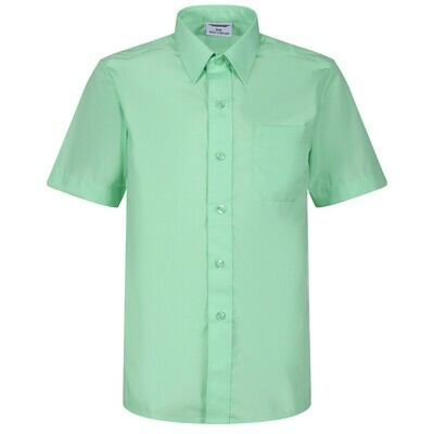 Short Sleeve Shirt in Green for Boys by Banner