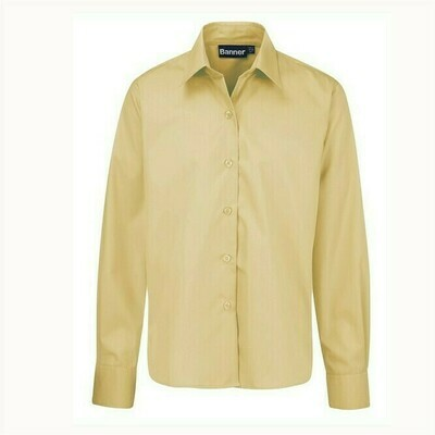 Long Sleeve Shirt in Yellow for Boys by Banner