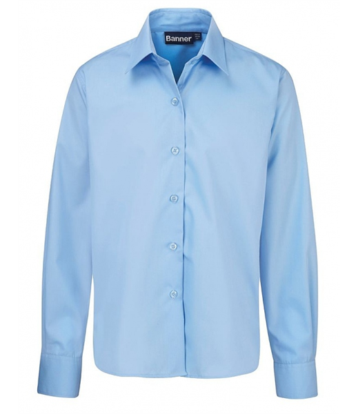 Long Sleeve Shirt in Blue for Boys by Banner