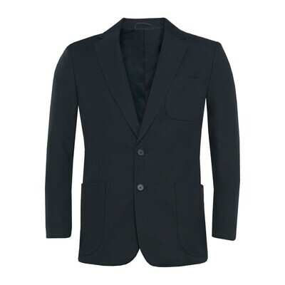 Navy Polyester Blazer for Boys