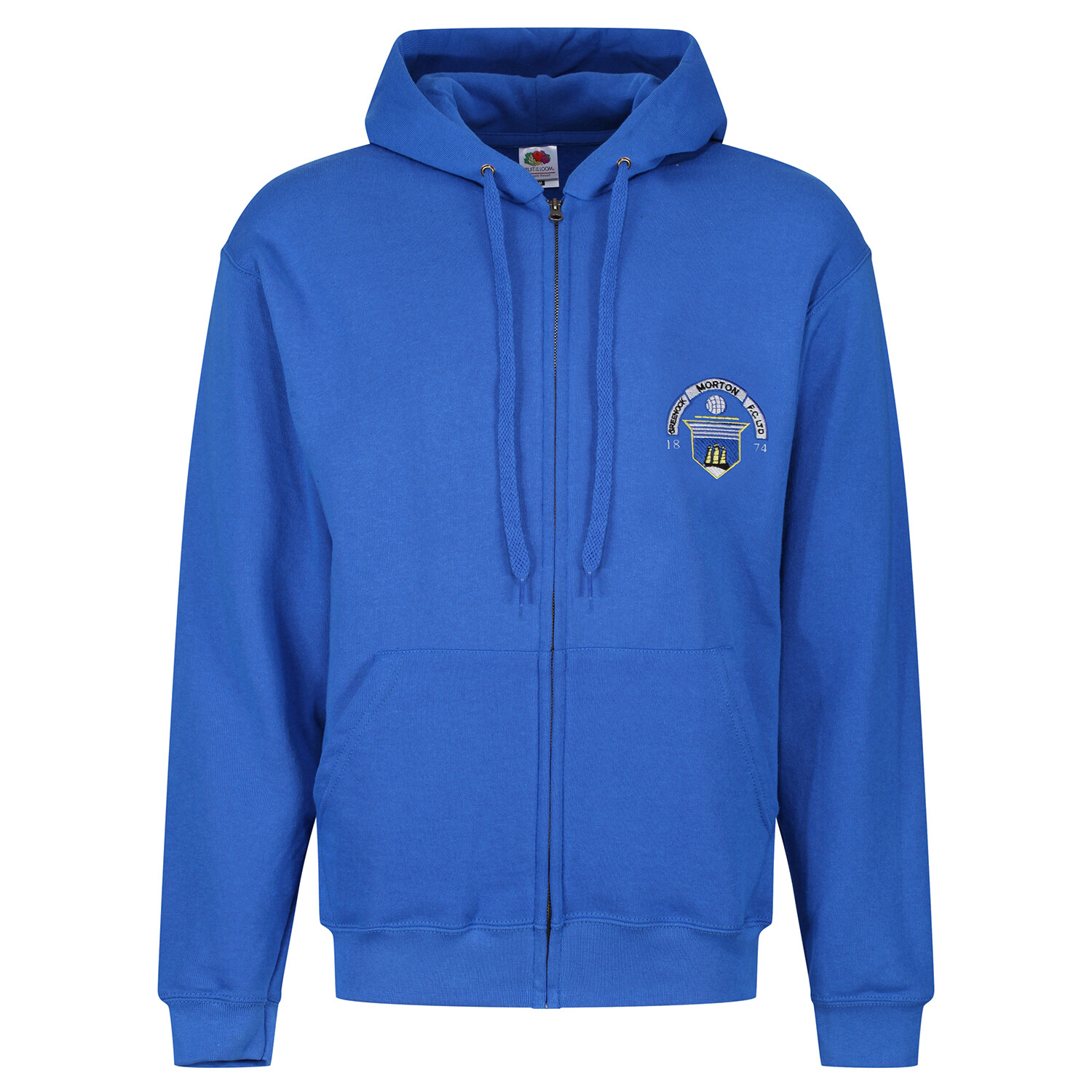 Morton 'Zipper' Hoody (In Royal)