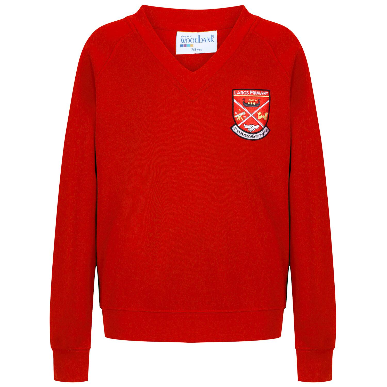 Largs Primary Sweatshirt (V-Neck)